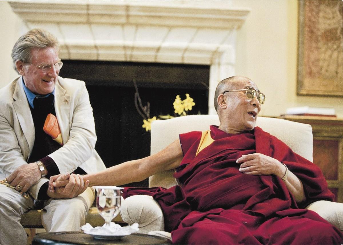 Robert AF Thurman & Tibet's HH Dalai Lama