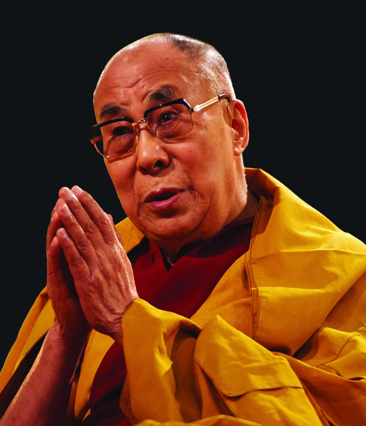 Photo of HH Dalai Lama of Tibet by Olivier Adam