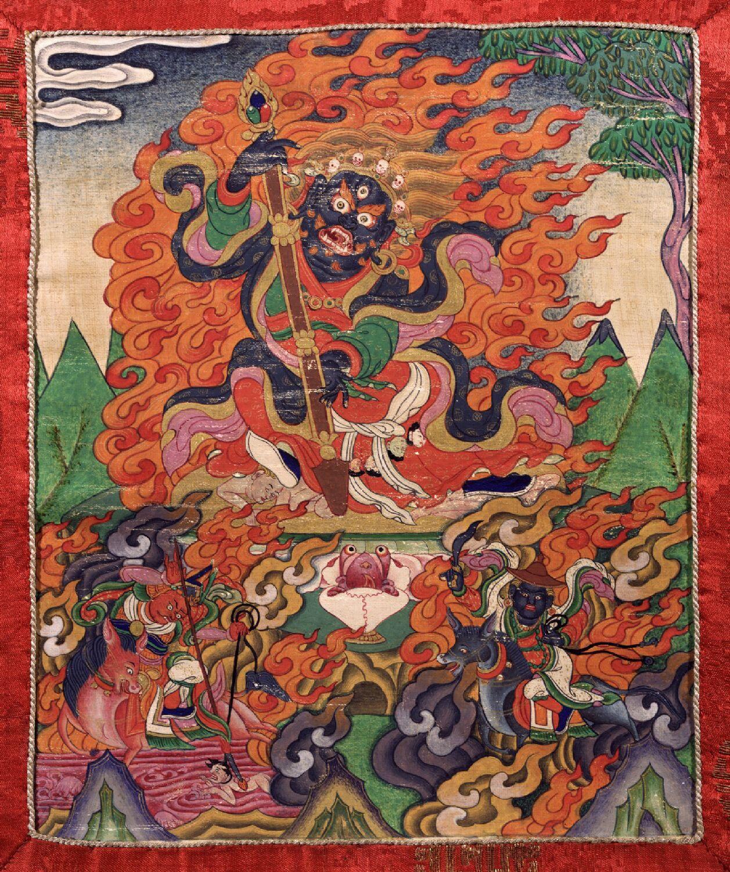 Mahakala Legden Collection of Tibet House US, New York