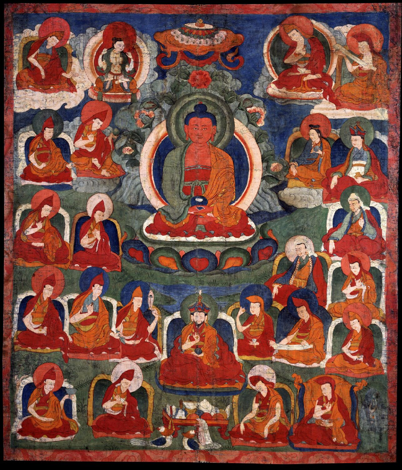 Amitabha/Amitayus Buddha from Tibet House US Collection