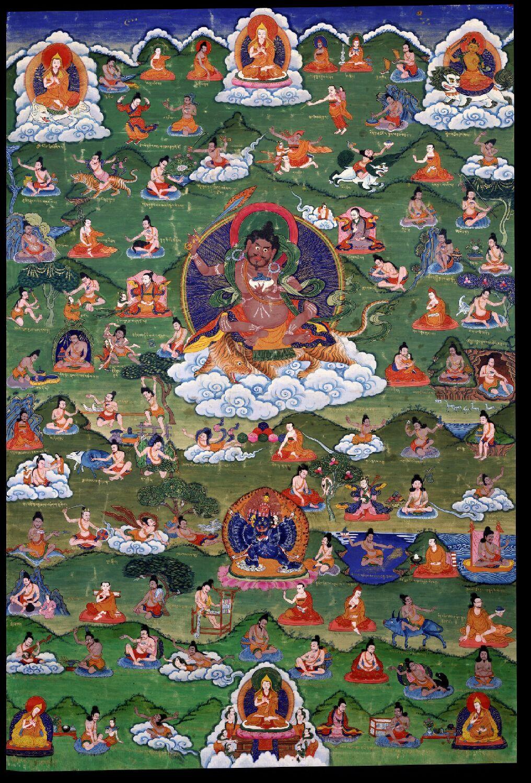 Tsongkapa as Mahasiddha