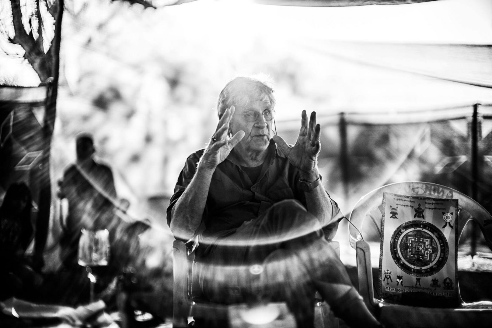 """Pilgrimage : Buddhist Soul - Ep. 21 of the Bob Thurman Podcast"" Photo by Christopher Michel, Used with permission."