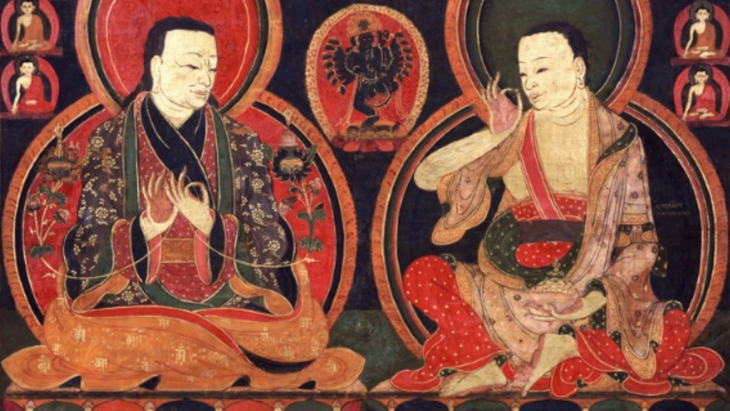 Saints and Miracles : Tilopa, Marpa & Milarepa - Ep. 48 of the Bob Thurman Podcast via www.himaylanart.org.
