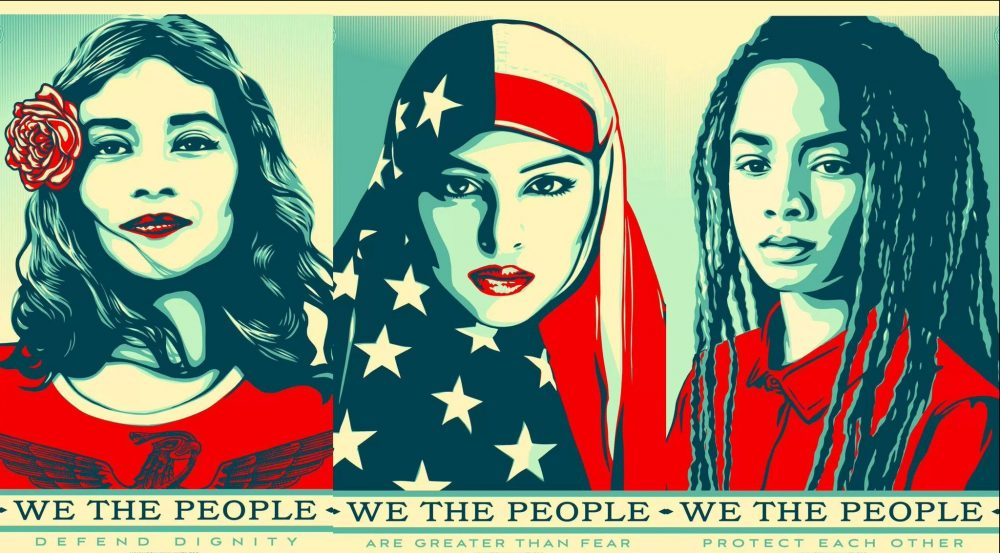 Inauguration We The People by Shep Shepard Fairey via Obey Giant