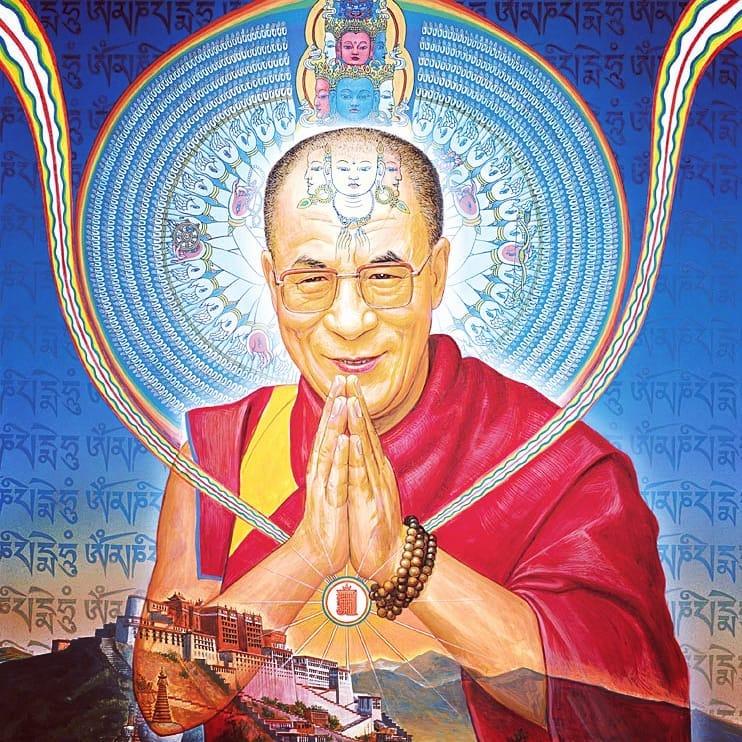 uddhism 101: Tibet's Dalai Lama – Ep. 110 Bob Thurman Podcast Dalai Lama Alex Grey