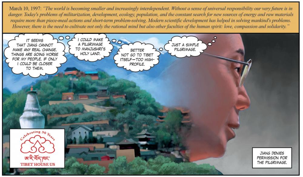 China, Tibet + the Dalai Lama's Vision