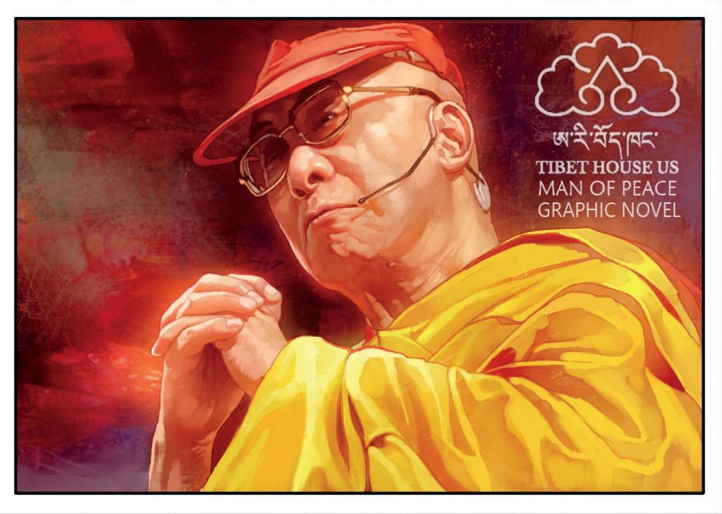 Man of Peace: Illustrated Life of Dalai Lama