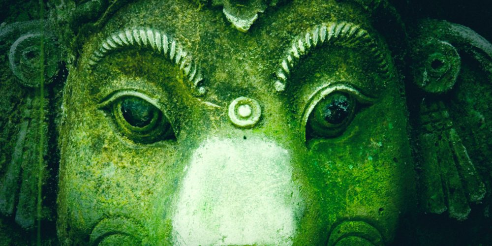 Green Yoga Ganesha
