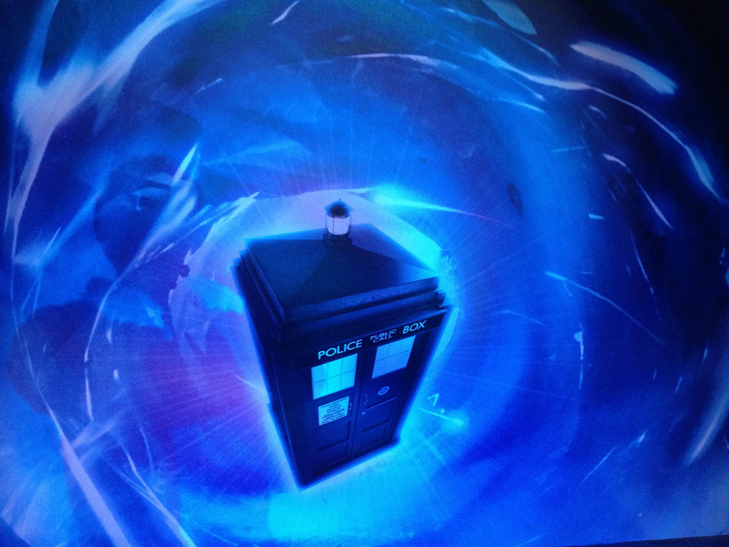 Force For Good: Sci-Fi & The Vimalakīrti Sūtra with Dr Who & Bob Thurman Image Police Box