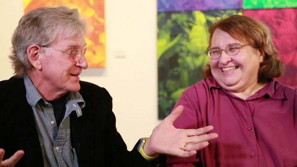 Sharon Salzberg & Bob Thurman at Tibet House US New York City