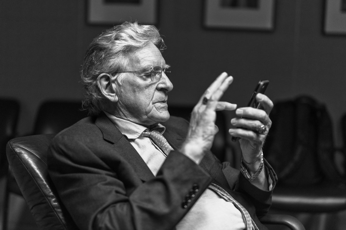 Robert AF Thurman Email Photo by Christopher Michel