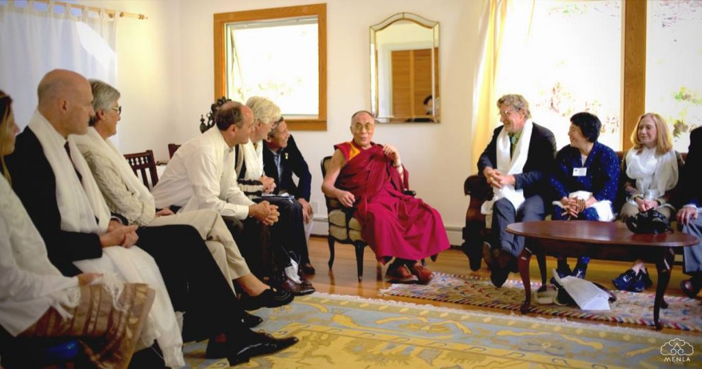 Dewa, Emptiness + The Buddha's Inspiration - Ep. 165 of the Bob Thurman Podcast Image at Menla with Dalai Lama, Phoenicia, New York, Dewa Spa