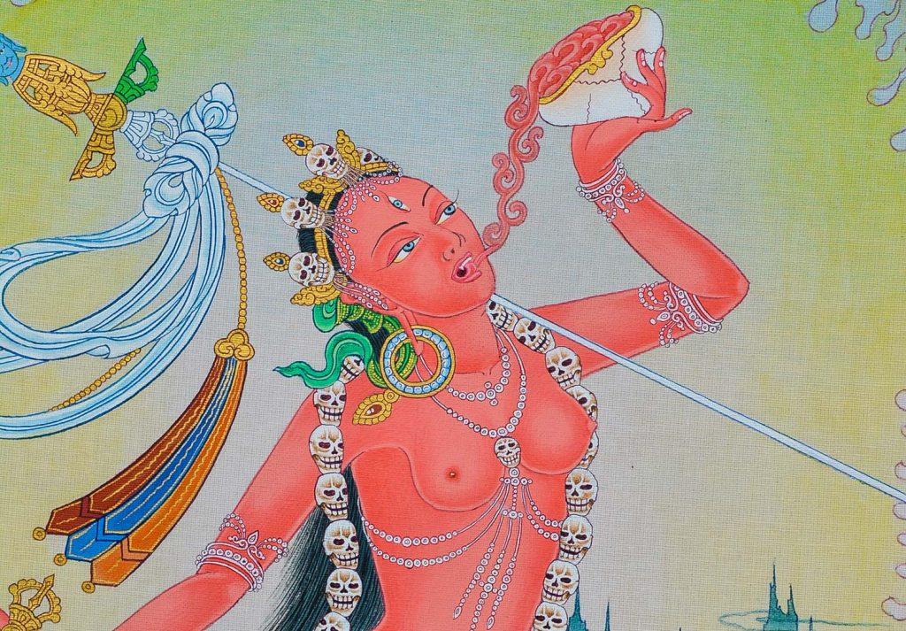 Questioning Buddhism : Angry or Fierce Buddhas - Episode #167 of the Bob Thurman Podcast Fierce Buddha Photo of Vajrayogini via Flickr.com.
