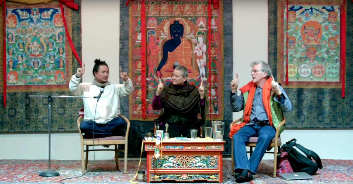 Shamans and Siddhas Retreat at Menla Phoenicia New York with Robert A.F Thurman, Isa and Dr. Nida