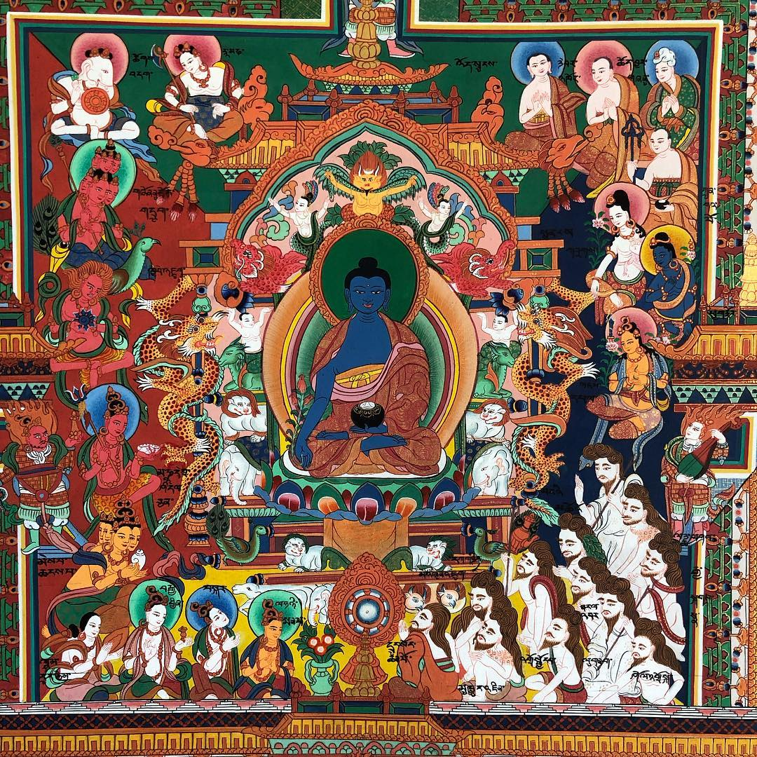 Tibetan Medicine : Yuthok the Elder & Sowa Rigpa - Episode 199 the Bob Thurman Podcast
