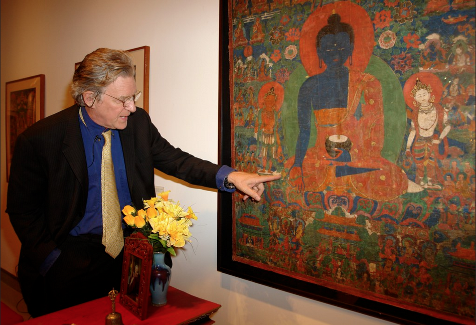 Robert A.F. Thurman teaching on Menla's Medicine Buddha