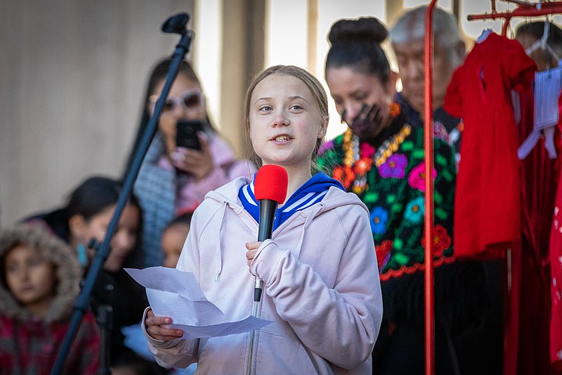 Listening to Greta Thunberg : Truth in Action - Episode 222 Greta Thunberg Photo by Andy Bosselman.