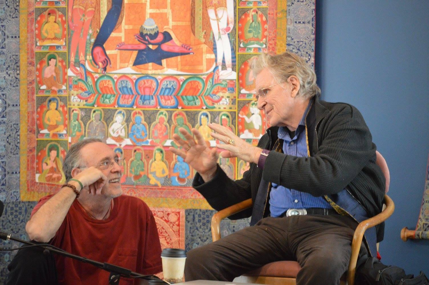 Tibet House US Conversations : Krishna Das – Episode 234 of the Bob Thurman Podcast photo via www.krishandas.com