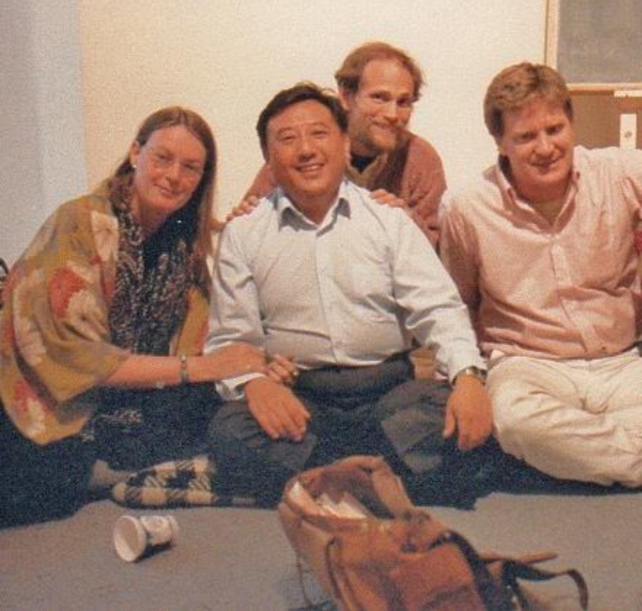 Nena, Bob with Gelek Rimpoche during his teaching at the NY Open Center in 1979