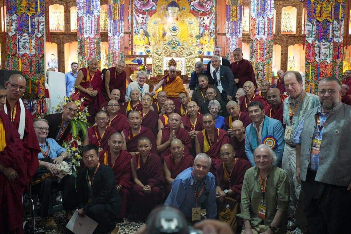 A historical event - the commemoration of the 600th anniversary of Je Tsongkhapa