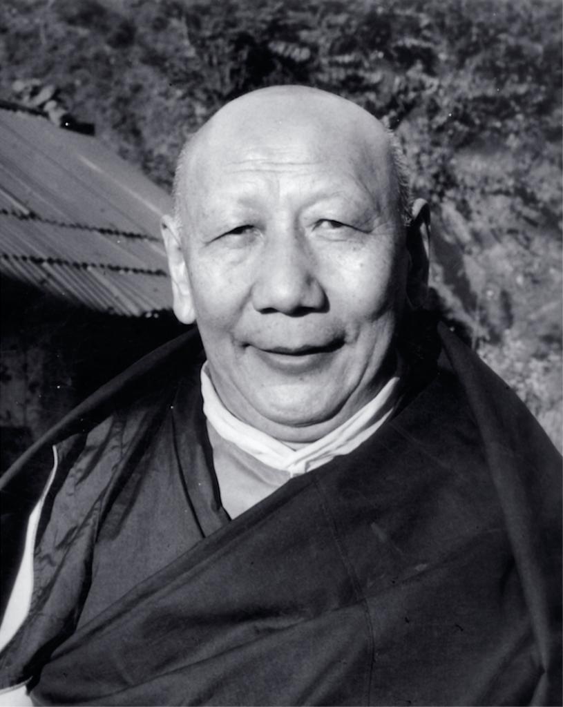 Kyabje Yongzin Ling Rinpoche