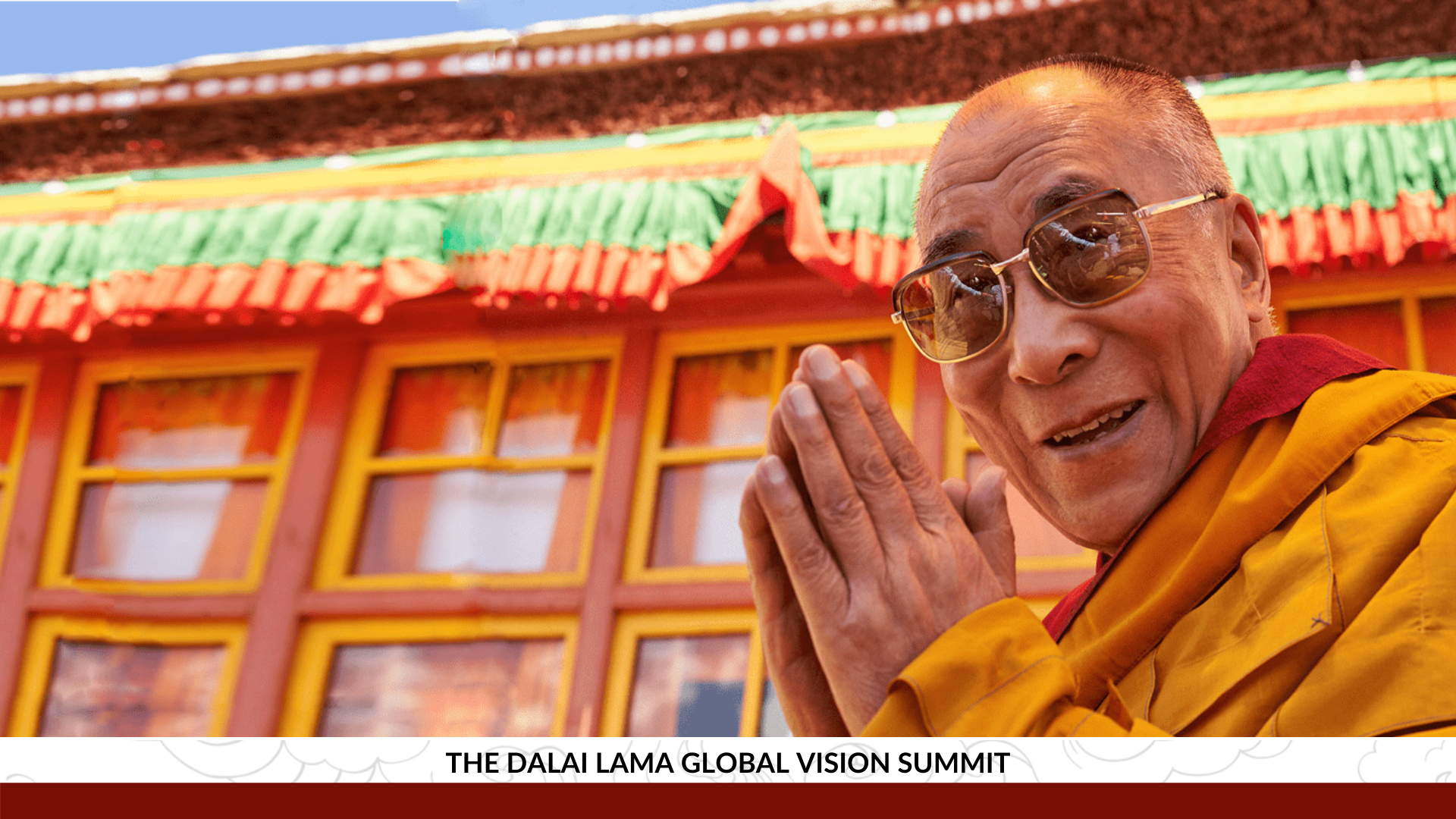 The Dalai Lama Global Vision Summit Video Bob Thurman Lion's Roar Tibet House US Menla Online
