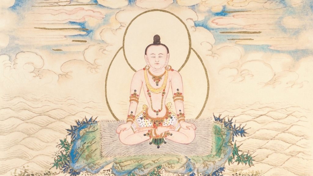 Vajra Yoga: Foundations in Mind and Body - Ep. 242 of the Bob Thurman Podcast Image via www.himalayanart.org.